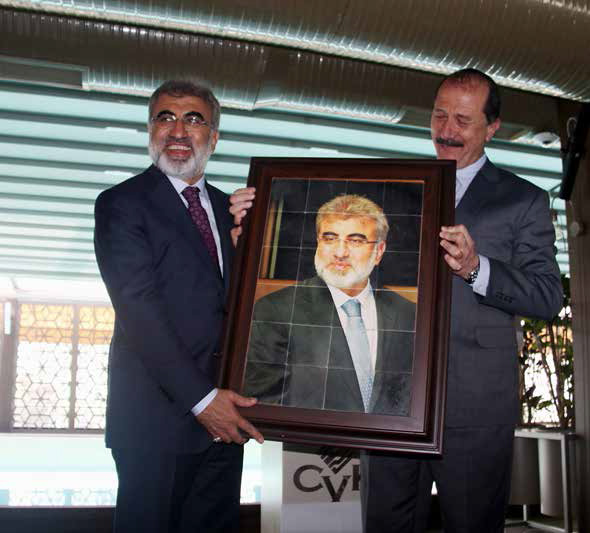 Mineral Exporters Paid Tribute to Minister Yıldız