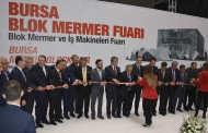 TURKISH NATURAL STONE BLOCKS HAVE BEEN PRESENTED TO WORLD MARKETS BY A FAIR ORGANIZED FOR THE FIRST TIME IN BURSA