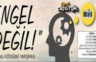 """""""ENGEL DEĞİL!"""" FOTOĞRAF, KAMU SPOTU, KARİKATÜR YARIŞMASI"""