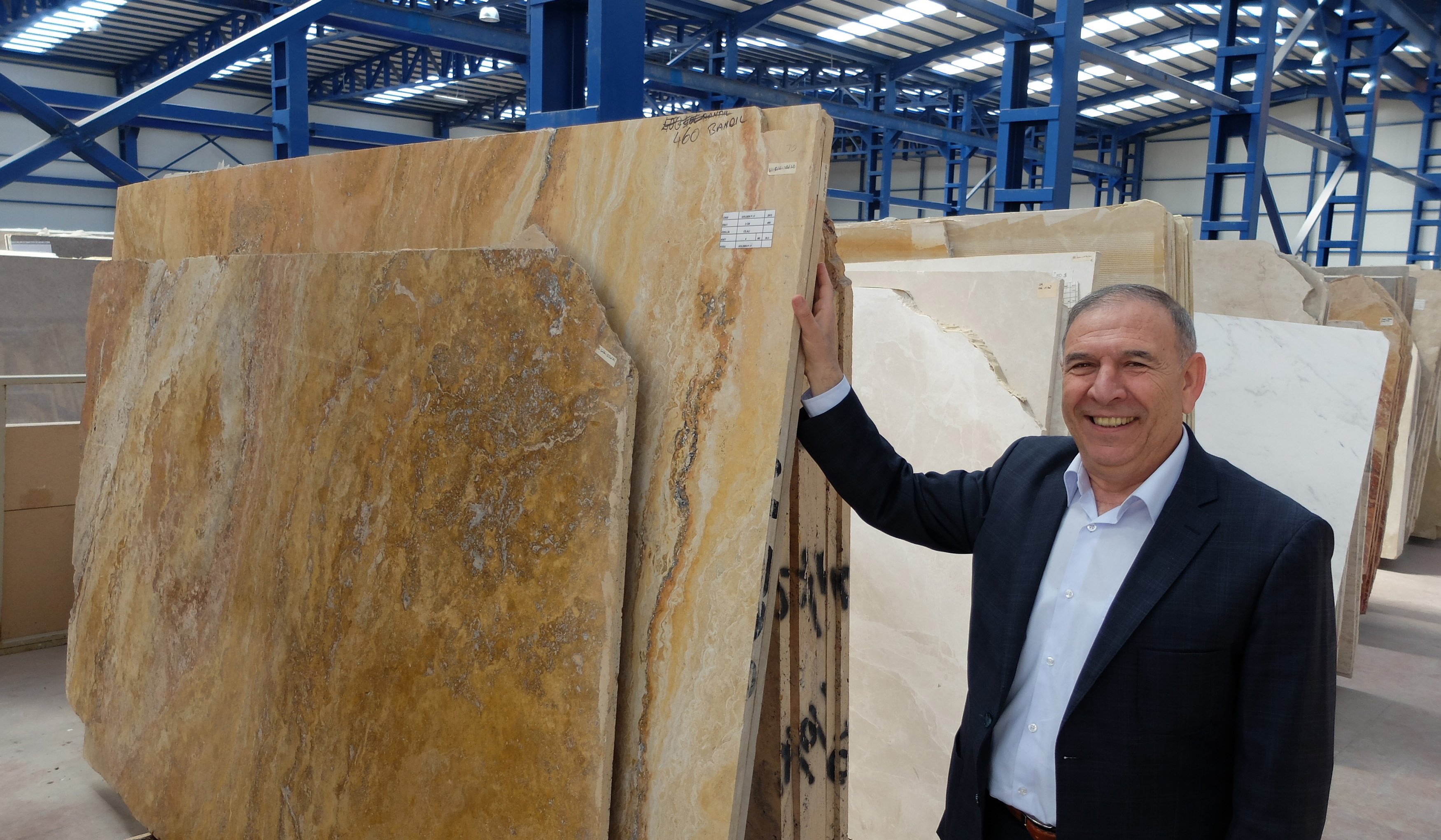 WE LISTENED THE STORY BEHIND HUROK MARBLE CELEBRATING ITS 35TH ANNIVERSARY IN THE NATURAL STONE INDUSTRY FROM THE CHAIRMAN HUSNU OLCAR