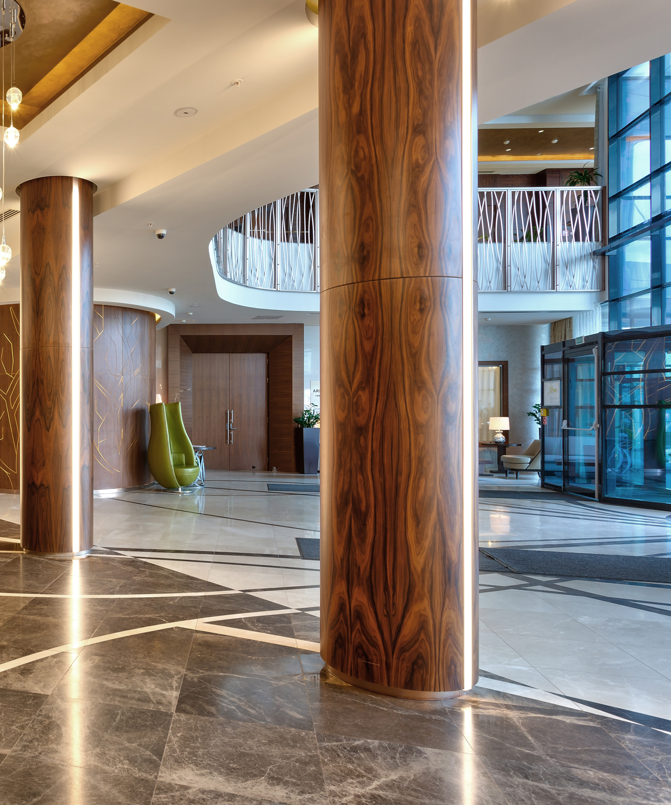 arketipo design enriches the interiors of hotels with marble   natura