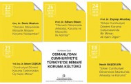 SERIES OF CONFERENCES ON PRESERVATION AT THE CHAMBER OF ARCHITECTS