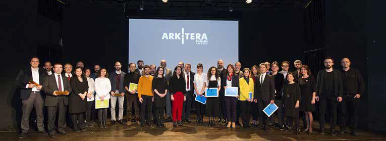Arkitera Ödülleri Sahiplerini Buldu