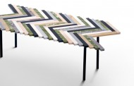 A DAZZLING PRODUCT FROM THE COLLABORATION OF BUDRI AND PATRICIA URQUILA: ZIG ZAG COFFEE TABLE