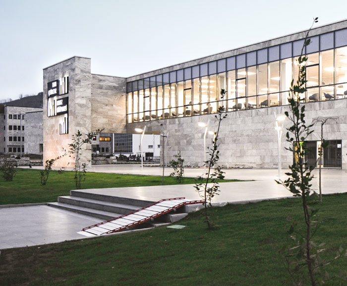 ORDU UNIVERSITY EMIN ÇETINCEVIZ CENTRAL LIBRARY ACE ARCHITECTURE
