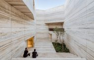 A MUSEUM-LIKE NATURAL STONE SHOWROOM, ESRAWE STUDIO