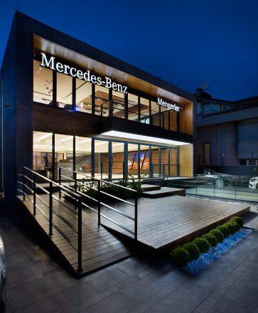 MERCEDES-BENZ MENGERLER CITY SHOWROOM