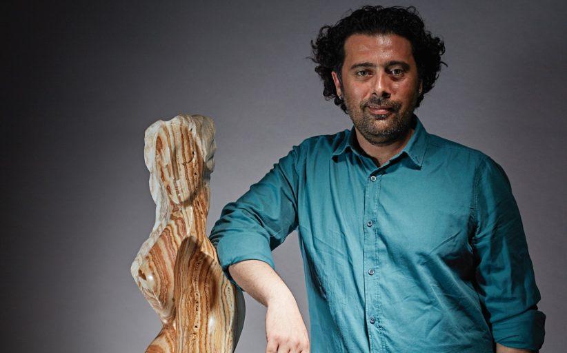 """SCULPTOR DINÇER GÜNGÖRÜR: """"NATURAL STONES ARE LIKE NATURE'S WORK OF ART"""""""