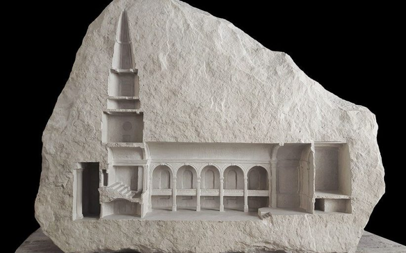THE ARCHITECTURE CARVED INTO NATURAL STONE