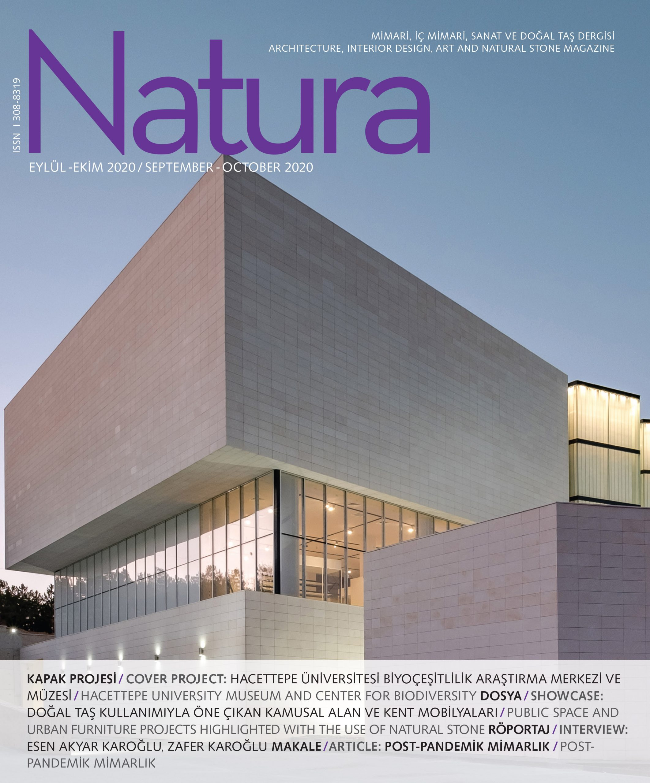 Natura Eylül-Ekim / Natura September-October