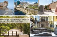 PUBLIC SPACE AND URBAN FURNITURE PROJECTS HIGHLIGHTED WITH THE USE OF NATURAL STONE