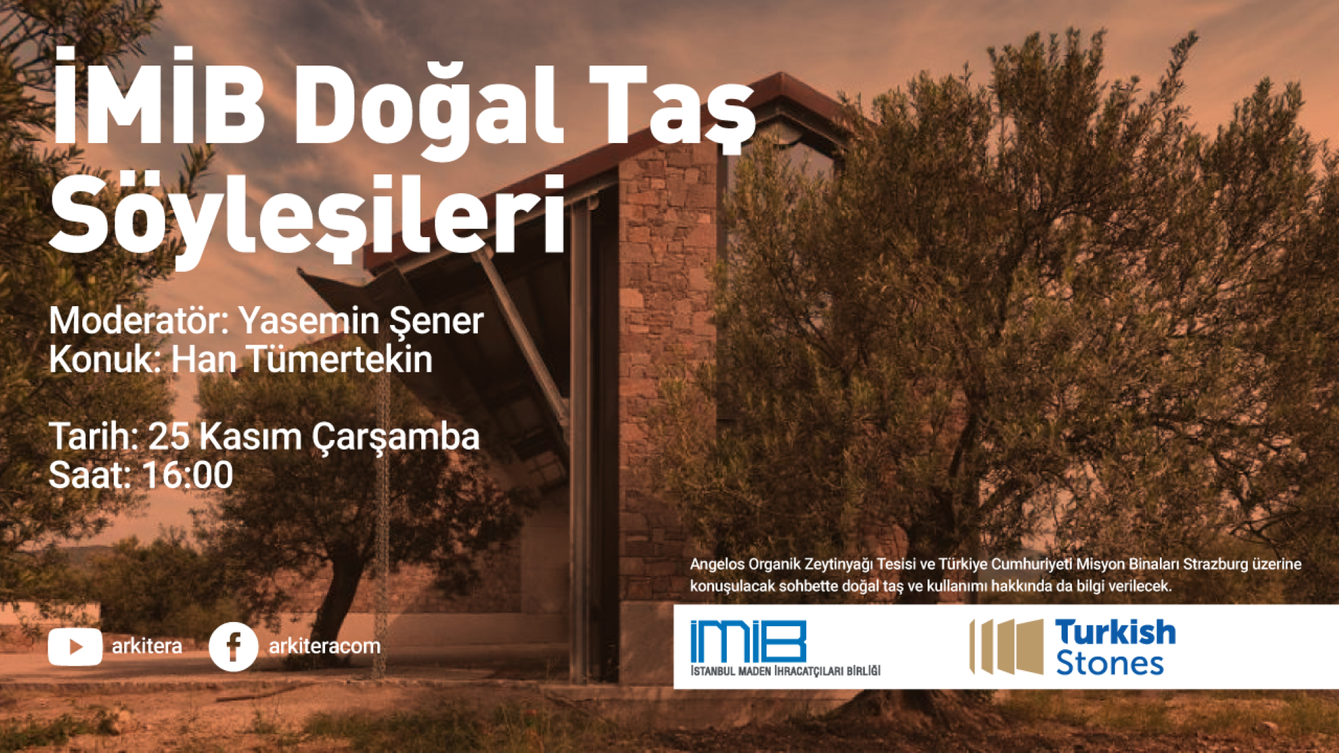 NEW GUEST OF İMİB NATURAL STONE TALKS: HAN TÜMERTEKİN