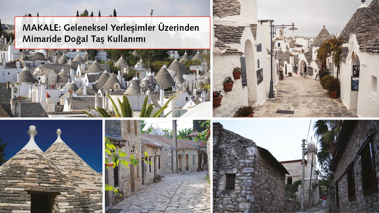 NATURAL STONE IN THE ARCHITECTURE OF TRADITIONAL SETTLEMENTS