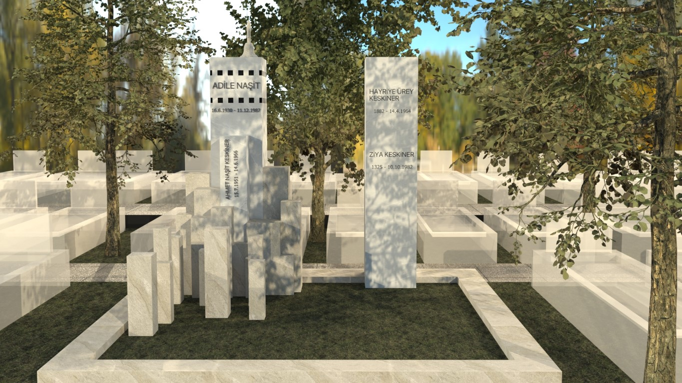 TURKISH NATURAL STONE AT THE FOREFRONT OF THE GRAVES OF ISTANBUL DESIGN CONTEST
