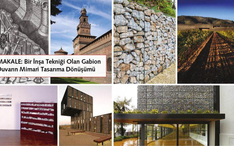 TRANSFORMATION OF GABION WALL AS A CONSTRUCTION TECHNIQUE INTO ARCHITECTURAL DESIGN