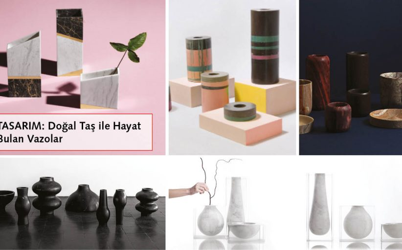 VASES THAT FIND LIFE IN NATURAL STONE
