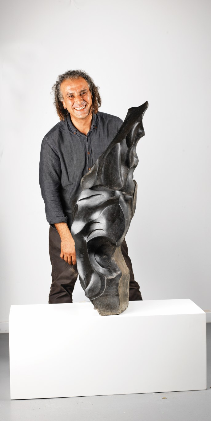 """SCULPTOR KAZIM KARAKAYA: """"ANATOLIA HAS A VERY RICH VARIETY WHERE YOU CAN FIND ANY KIND OF STONE YOU WANT"""""""