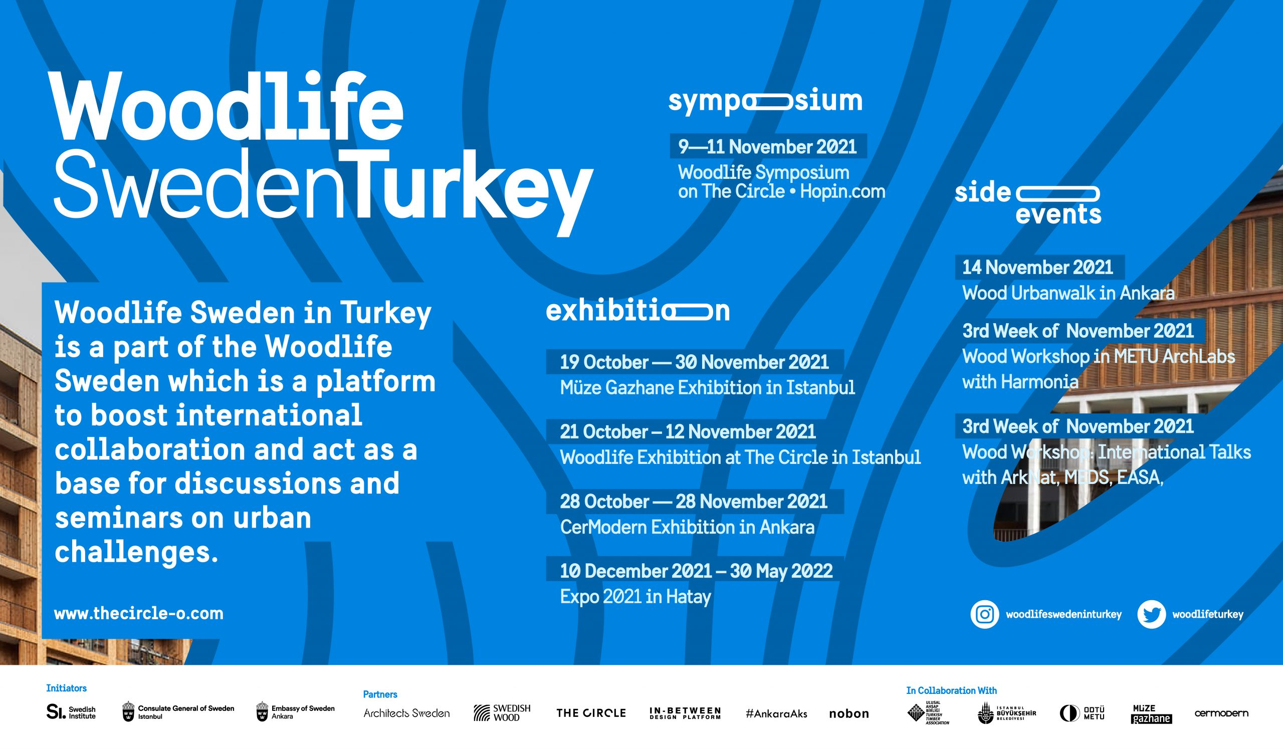 WOODLIFE SWEDEN TURKEY – A PLATFORM ON ARCHITECTURE, DESIGN AND SUSTAINABLE CITY-PLANNING