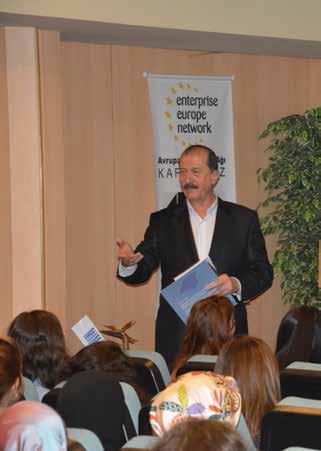 İstanbul Maden İhracatçıları Birliği'nin üniversiteli gençleri bilgilendirme amaçlı düzenlediği seminerler devam ediyor
