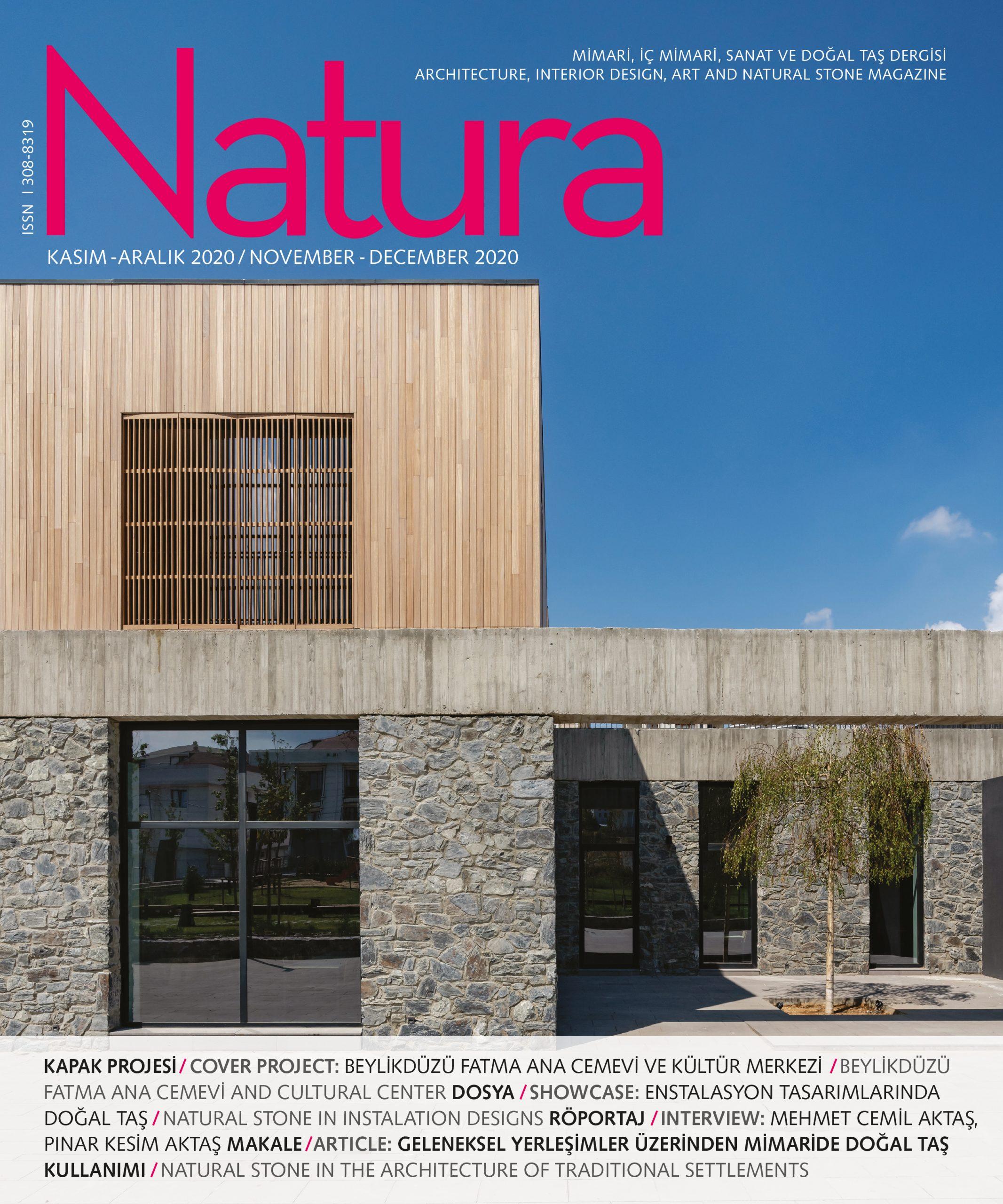 Natura Kasım-Aralık / Natura November-December